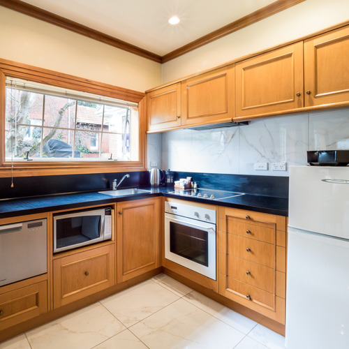 Kitchen at 858 George Street Dunedin
