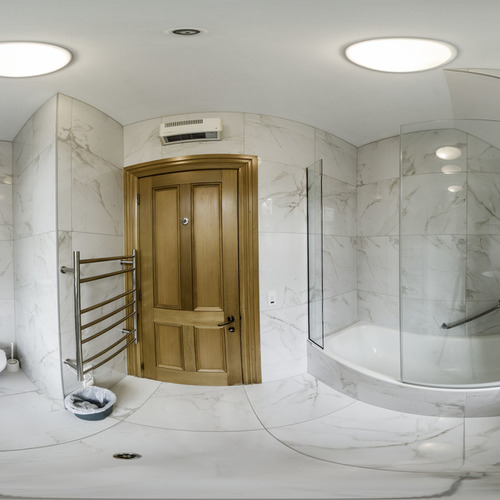 360' bathroom at 858 George Street, award winning luxury accommodation in Dunedin